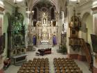 interéry kostela Zvěstování Panny marie