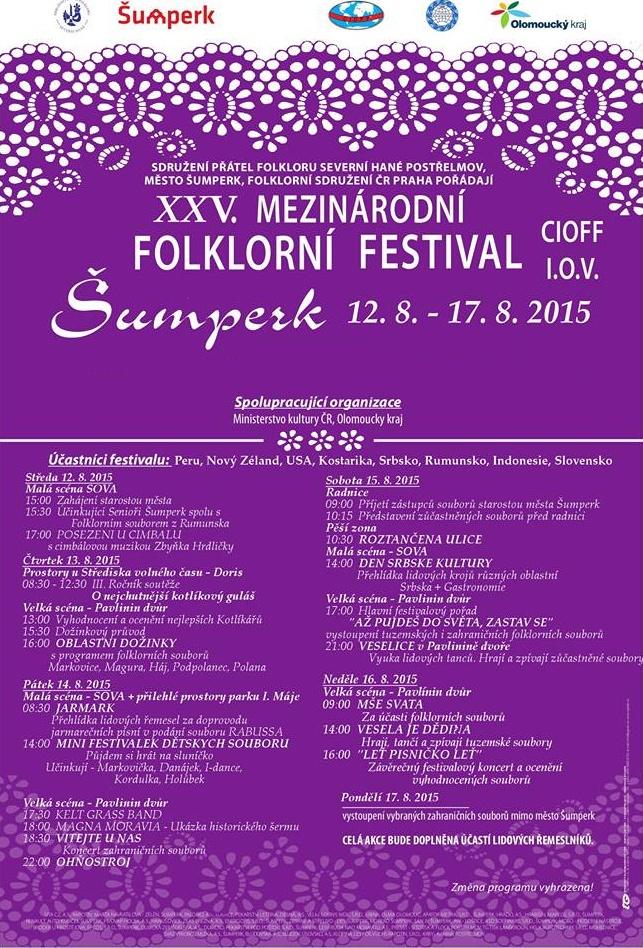 MFF Šumperk 2015