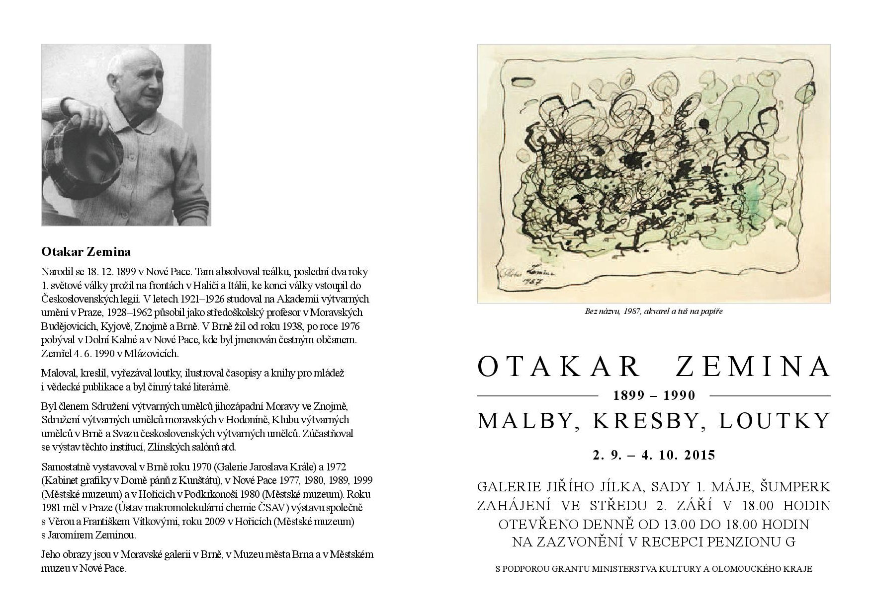 Otakar Zemina list mejl pdf